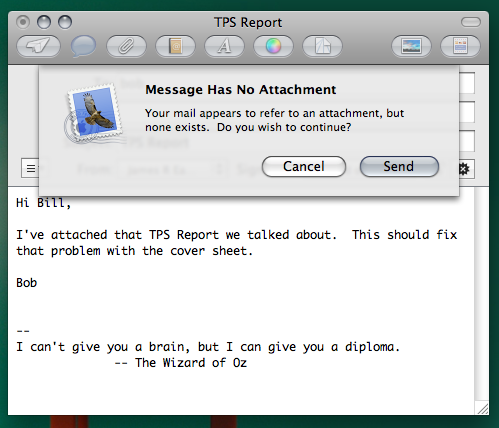 essential os x software 1 mail attachment reminder plugin