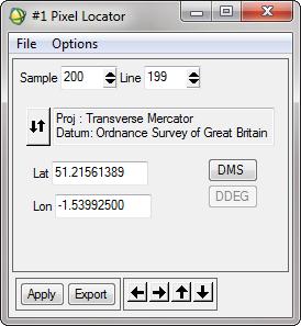 ENVI_PixelLocator_LatLon